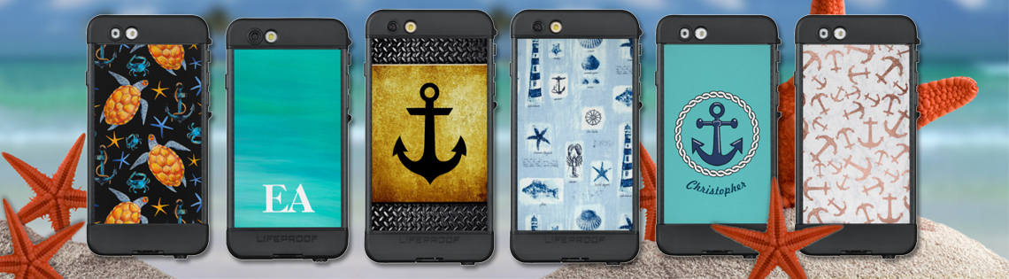 Nautical LifeProof NUUD Cases for iPhone