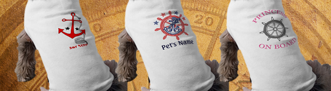 Nautical Dog Shirts