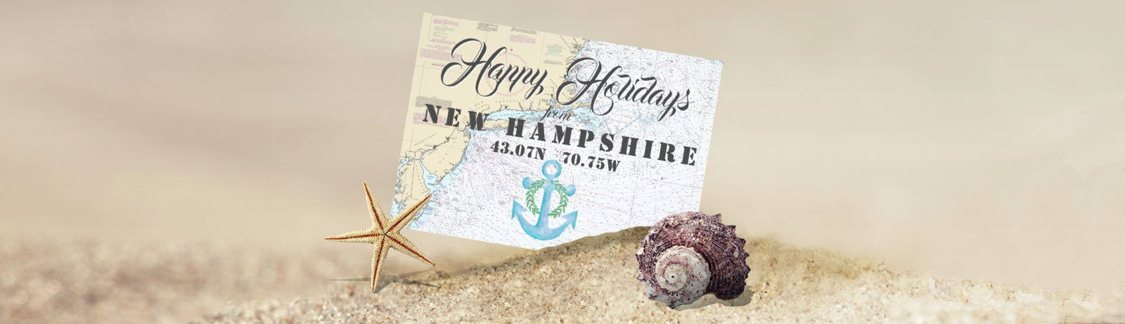 Tropical & Nautical Holiday Cards - The Nautical Boutique Co.