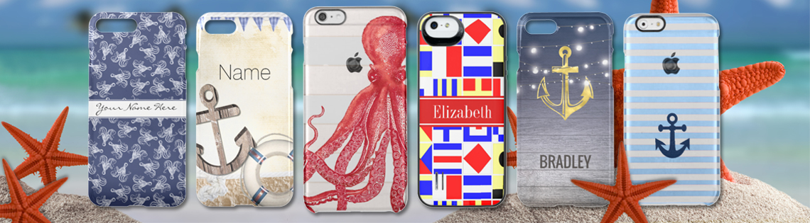 Nautical Uncommon Cases for iPhone