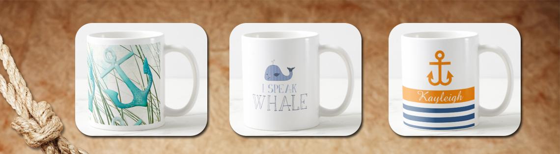 Nautical Coffee Mugs
