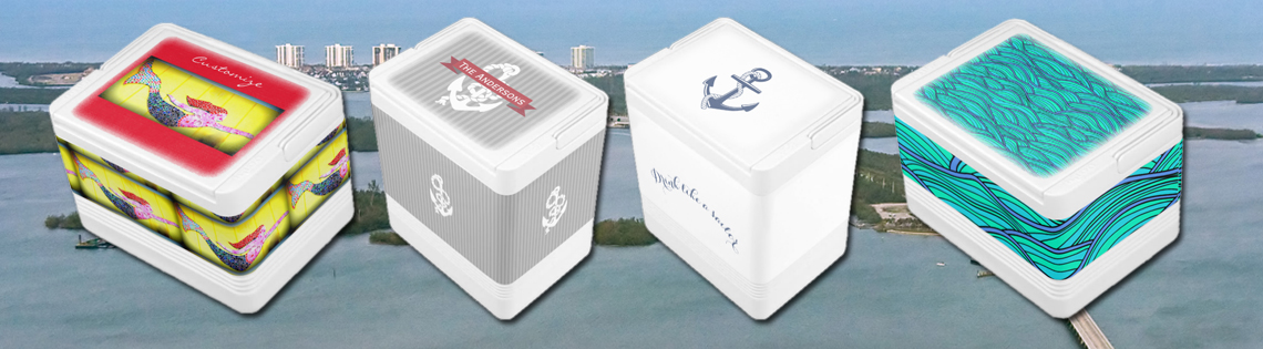 Nautical Igloo Personal Coolers