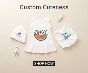 Shop Custom Gift Ideas for Baby