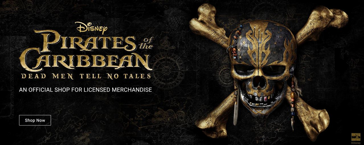 Disney Official Pirates of the Caribbean Merch