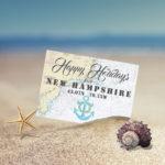 Nautical Happy Holidays from New Hampshire