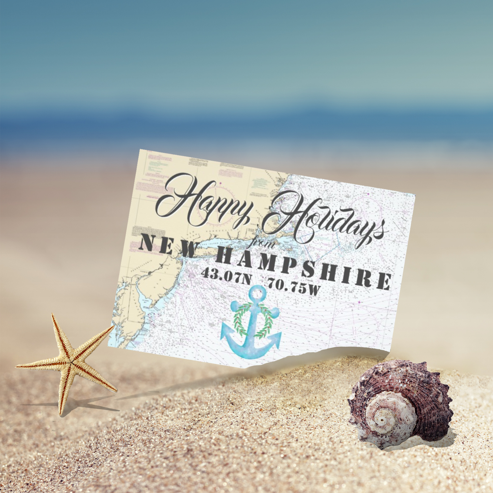 Tropical Nautical Holiday Cards The Nautical Boutique Co