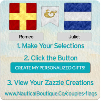 Nautical Boutique Co. Launches Monogram Signal Flag Designs!