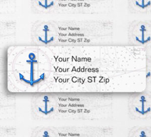 Free Nautical Address Labels For