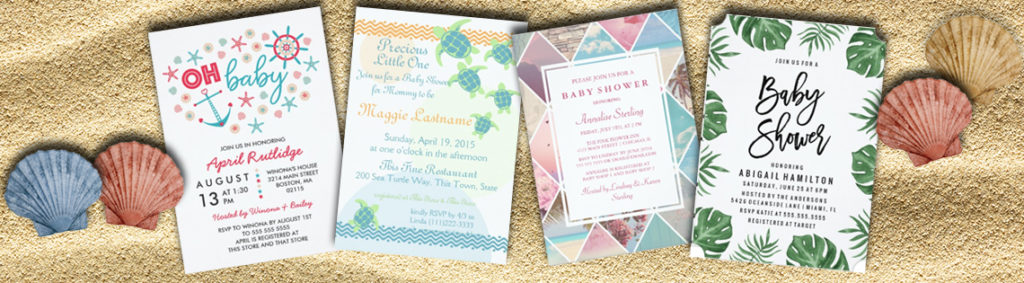 Nautical Baby Shower Invitations The