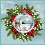 Nautical Christmas at the Lake
