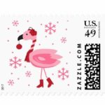 Flamingo Tropical Christmas