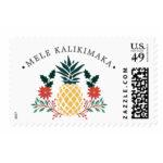 Mele Kalikimaka Holiday Postage Stamp