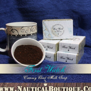 First Watch | Creamy Goat's Milk Soap by www.NauticalBoutique.Co