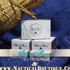 Spiced Rum | Rich Honey Soap by www.NauticalBoutique.Co