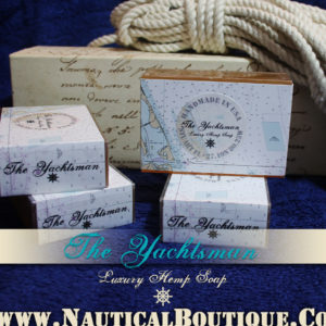 The Yachtsman | Luxury Hemp Soap by www.NauticalBoutique.Co
