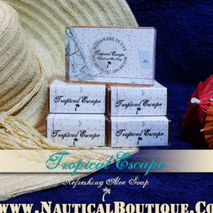 Tropical Escape | Refreshing Aloe Soap by www.NauticalBoutique.Co