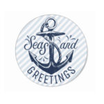 Seas and Greetings Nautical Holiday Design Feature